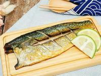 懶人簡易烤箱料理-鹽烤鯖魚