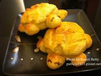 五分鐘免揉麵包~烏龜菠蘿麵包