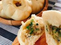 韭菜粉絲肉包(中式麵食)