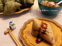 鹹粽子(水煮粽)~南北粽合併的古早味