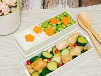 簡易便當菜-鹽麴小黃瓜雞丁
