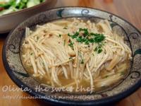 【四季江戶味之秋季料理】Olivia♥和風奶油金針菇