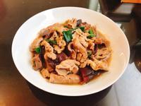 香菇醬炒豬肉片