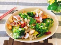 蒜香小卷炒西蘭(家常料理)