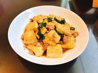 塔香肉末蛋豆腐