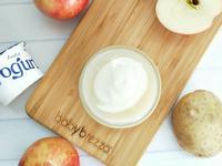 【寶寶食譜】蘋果馬鈴薯優格沙拉