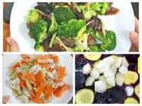 低卡香料胡蘿蔔雞、木耳花椰-美味低溫料理