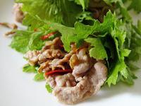 【厚生廚房】薑汁燒肉鮮蔬捲