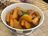 蘿蔔蔥燒豬