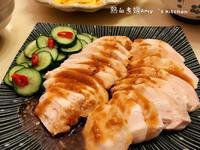 瘦身輕食餐~嫩雞胸肉佐涼拌小黃瓜