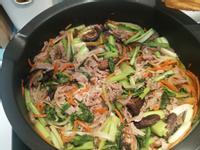 韓式烤肉醬炒豬肉片