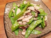 鮮菇炒荷蘭豆
