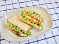 地瓜泥蛋沙拉三明治