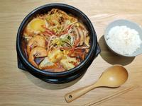 韓式鮮蝦牛肉嫩豆腐鍋