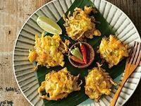 南洋料理達人劉明芳--薑黃鮮蝦蔬菜餅