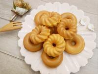 可愛的「原味甜甜圈」鬆餅機簡單完成 ♡