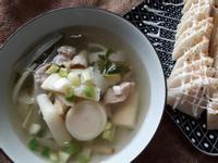 一鍋兩菜簡單上菜─十分鐘的竹筍肉絲湯