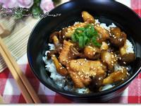 照燒菇菇雞肉丼