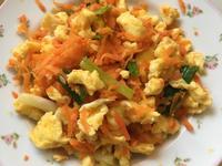 蛋炒紅蘿蔔