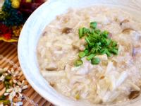 鮮菇竹筍粥「好菇道營養料理」