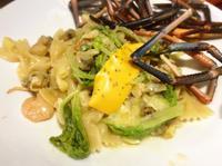 海鮮蒜味蝴蝶麵