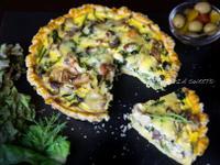 法式蕈菇培根鹹派「好菇道營養食譜」