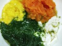 半電子鍋副食品-四色蔬菜泥/空心菜泥