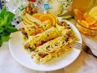 菇菇起司蕾絲蛋餅卷【好菇道營養料理】