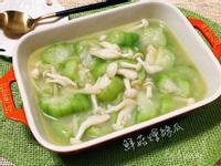 鮮菇燴絲瓜【好菇道營養料理】