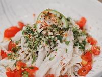 低醣料理 <沙拉> 泰式雞肉青木瓜沙拉