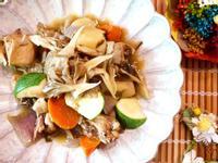 舞菇味噌燉雞「好菇道營養料理」