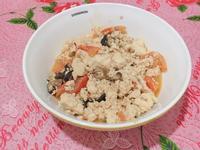 番茄炒豆腐(素)