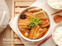 蒜燒焢肉_電鍋料理 美味便當菜