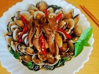塔香舞菇蛤蠣【好菇道營養料理】