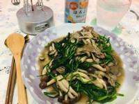 雙菇舞水蓮[好菇道營養料理]