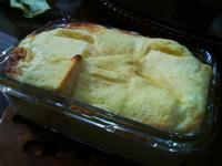 超簡易烤布丁:用土司就可以!