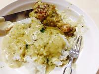 白酒奶油蘑菇雞