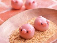 造型湯圓 粉紅快樂小豬
