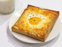烤箱|起司太陽蛋吐司