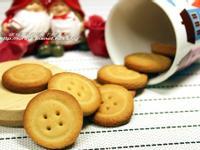 可做收涎餅乾的可愛鈕釦餅
