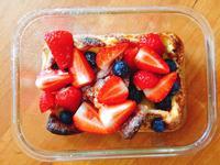 幸福水果鬆餅(草莓/藍莓口味)