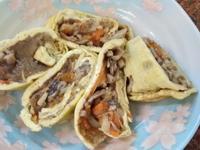 三絲蛋皮捲(好菇道營養料理)