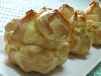 【黃金玄米油清爽料理】~『布丁黃金泡芙』