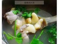 菱角肉片湯