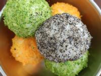 彩色飯糰(一歲寶寶主食)