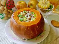 南瓜菇菇蒸蛋-電鍋版【好菇道營養料理】