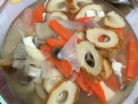 竹輪菇菇味噌湯