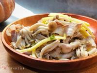 鮮菇肉片佐香蔥油醋醬 - 好菇道營養料理