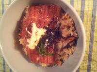 蒲燒鰻魚五目炊飯