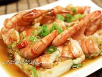 簡單美味的宴客菜~蒜蓉蒸蝦